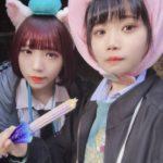 【圧倒的可愛さ】BiSHアユニとBiSムロパナコが制服ディズニーに絶賛の嵐。「制服は神」「反則」「合流希望」「もうやだむり!!!!!」の声
